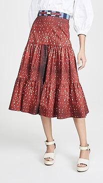 Fawn Print Skirt