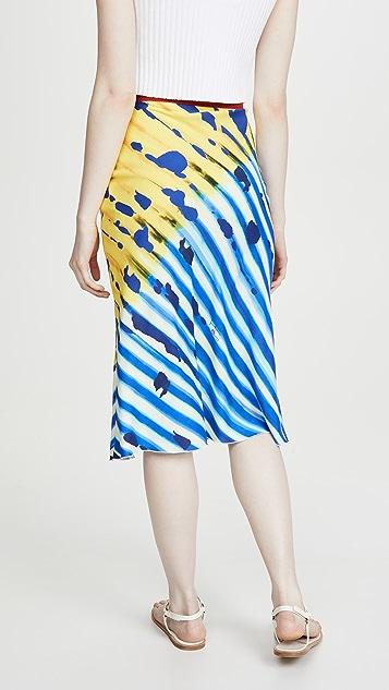 Stella Jean Stampa Iris 半身裙