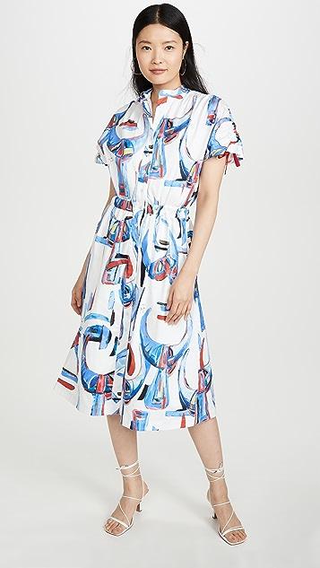 Stella Jean Rasatello Corna Dress