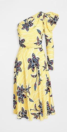 Stella Jean - One Shoulder Dress