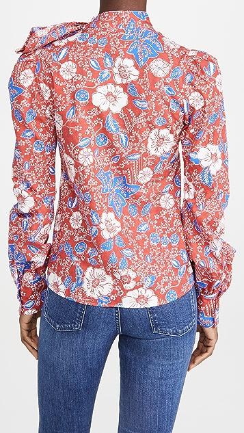 Stella Jean Camicia Batick Top