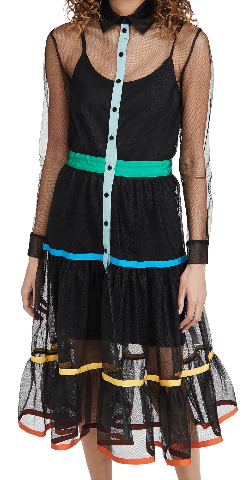 Stella Jean Sheer Tulle Dress