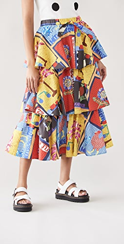 Stella Jean - Multicolor Skirt