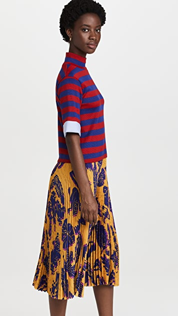 Stella Jean Mixed Print Dress