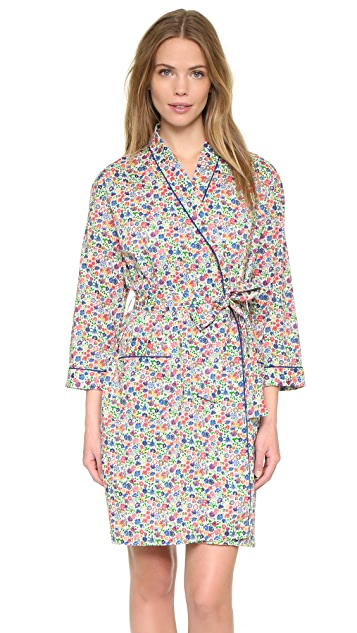 Sleepy Jones Liberty Sunshine Floral Isa Robe
