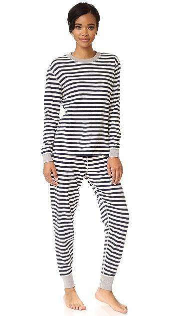 Sleepy Jones Helen Pajama Top
