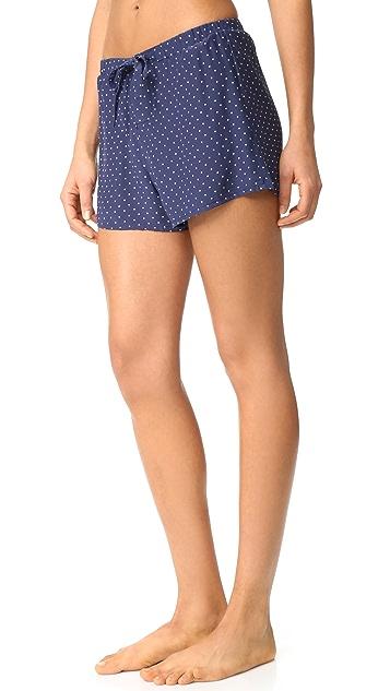 Sleepy Jones Silk Paloma Pajama Shorts