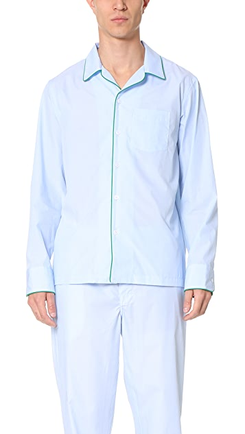 Sleepy Jones Henry End on End Pajama Shirt