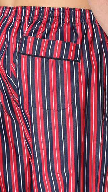 Sleepy Jones Marcel University Stripe Pajama Pants