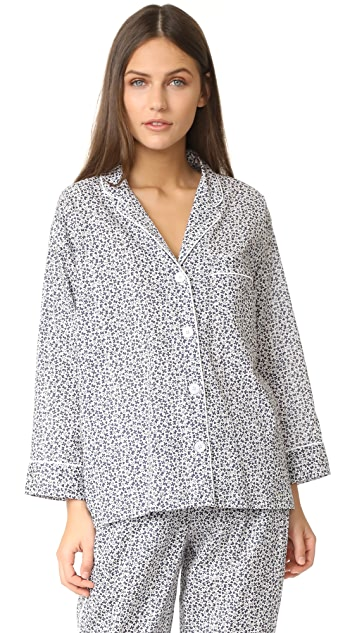 Sleepy Jones Liberty Grace Floral Marina Pajama Shirt