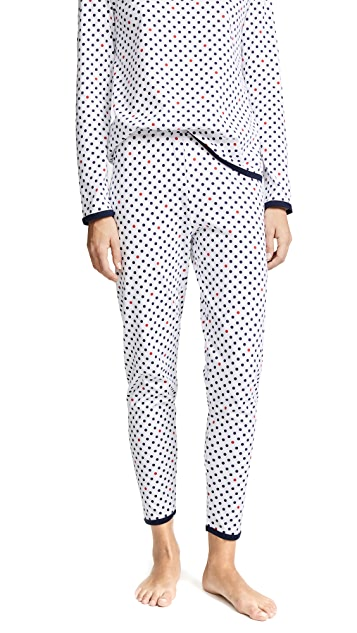 Sleepy Jones Brigitte Polka Dot Pajama Pants