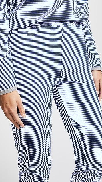 Sleepy Jones Brigitte Mini Stripe Pajama Pants
