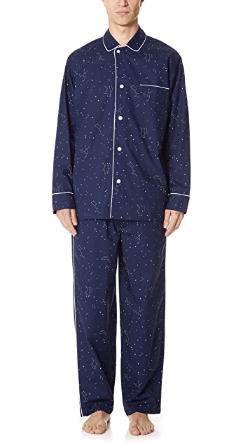 Sleepy Jones Constellation Pajama Set