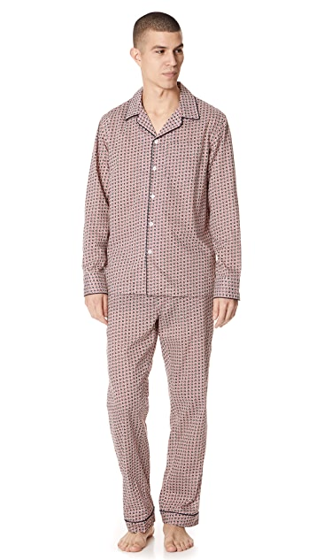 Sleepy Jones Liberty Solar Print Pajama Top