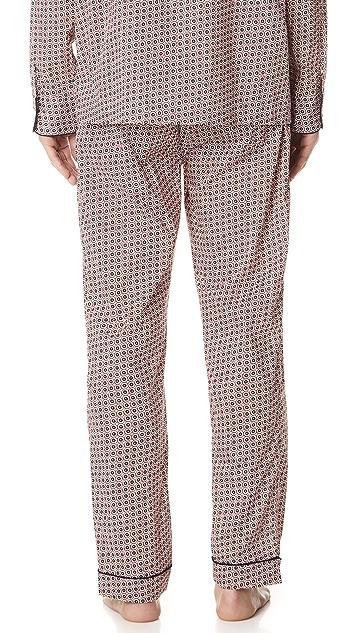 Sleepy Jones Liberty Solar Print Pajama Pants