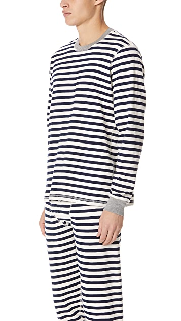 Sleepy Jones Stripe Pajama Shirt