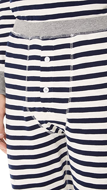 Sleepy Jones Stripe PJ Pants