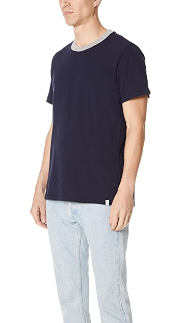 Sleepy Jones Heather Jersey Andre Tee