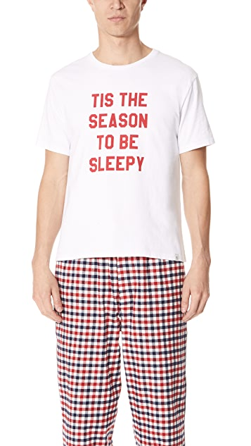 Sleepy Jones Tis the Season Tee