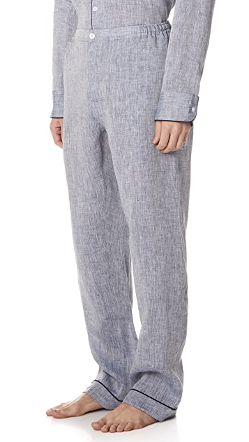 Sleepy Jones Linen PJ Bottoms