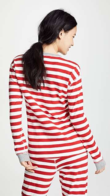 Sleepy Jones Helen Long Sleeve Shirt