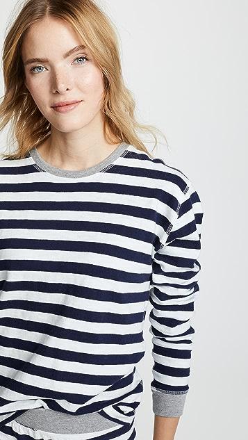 Sleepy Jones Рубашка Helen с длинными рукавами