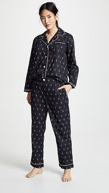 Sleepy Jones x DLF Bishop Pajama Set