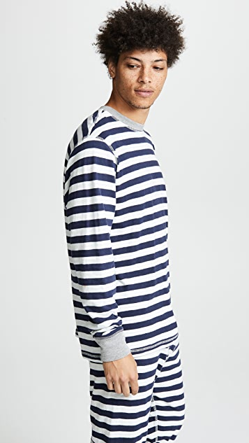 Sleepy Jones Keith Knit Tee Shirt