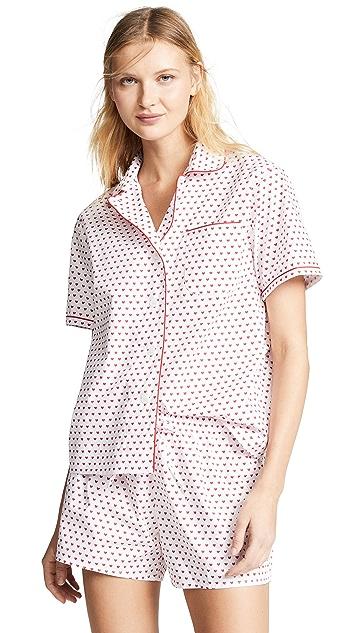Sleepy Jones Corita Short Sleeve Pajama Shirt