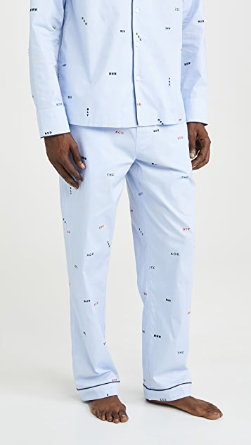 Sleepy Jones Marcel Pajama Pants
