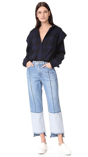 SJYP Ton On Ton Tomboy Jeans