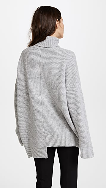 SJYP SJYP Logo Turtleneck Sweater