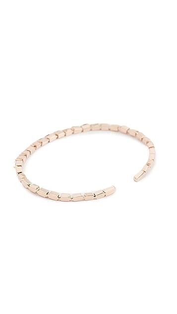 Suzanne Kalan Fireworks 18k Gold Diamond Baguette Bracelet