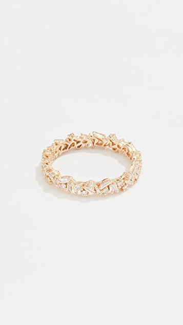 Suzanne Kalan Fireworks 18k Gold Eternity Band Ring