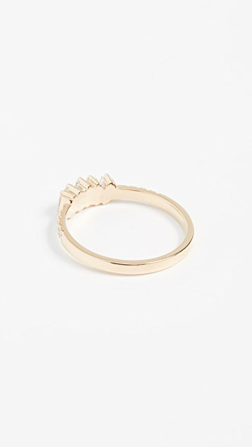 Suzanne Kalan 18k Gold Diamonds Ring