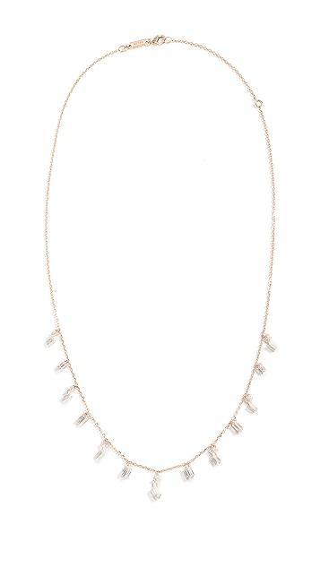 Suzanne Kalan 18k Gold Dangle Drops Necklace