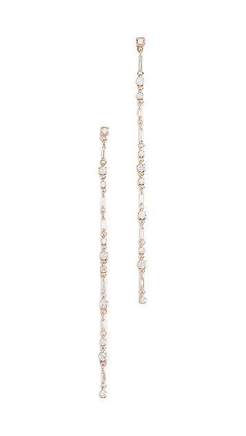 Suzanne Kalan 18K 金中号悬挂式耳环