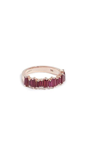Suzanne Kalan 18k 玫瑰金宝石戒指