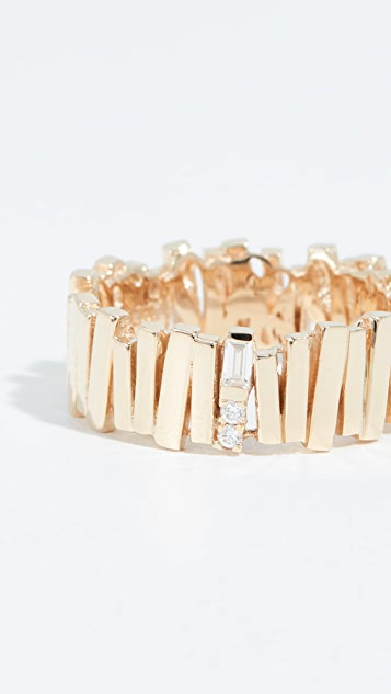 Suzanne Kalan 18k Gold Eternity Ring
