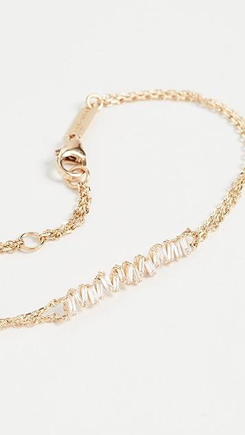 Suzanne Kalan 18k 黄金链式手链