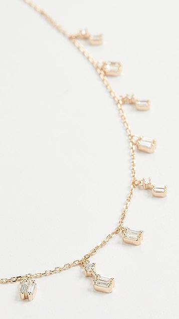 Suzanne Kalan 18K 金层叠烟花系列垂式项链