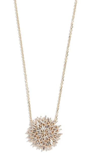 Suzanne Kalan 18k Yellow Gold Medium Starburst Necklace