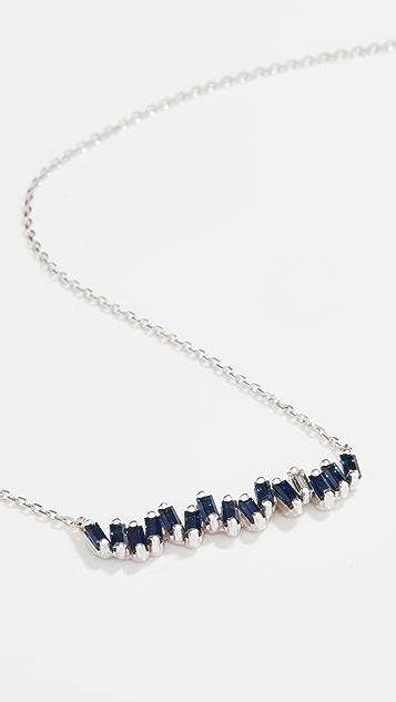 Suzanne Kalan 18k White Gold Necklace