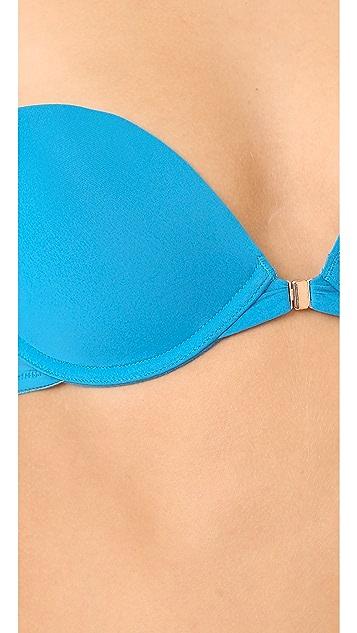 Skarlett Blue Minx Front Close Push-Up Plunge Bra