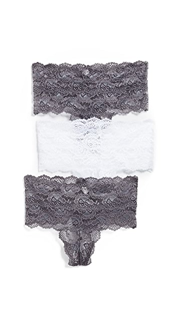 Skarlett Blue Goddess 3-Pack High Rise Thong