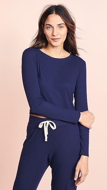 Skarlett Blue Укороченная рубашка Daydream с длинными рукавами