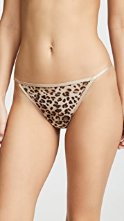Skarlett Blue Mod Leopard Thong