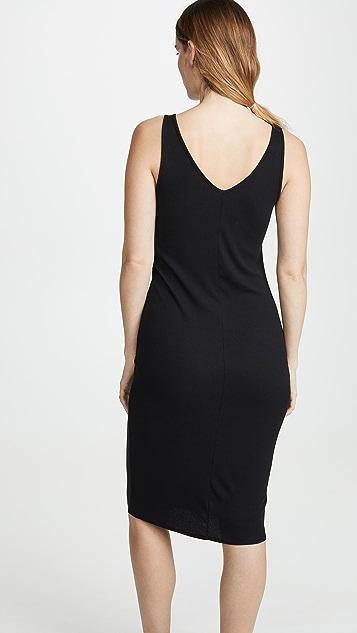 Skarlett Blue Миди-платье без рукавов Daydream