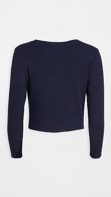 Skarlett 蓝色 Daydream 长袖短款衬衣
