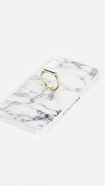 Skinnydip Мраморный чехол для iPhone X/XS